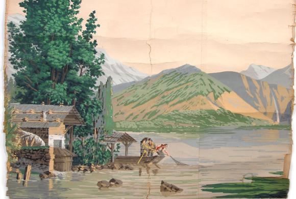Switzerland Lake Scene