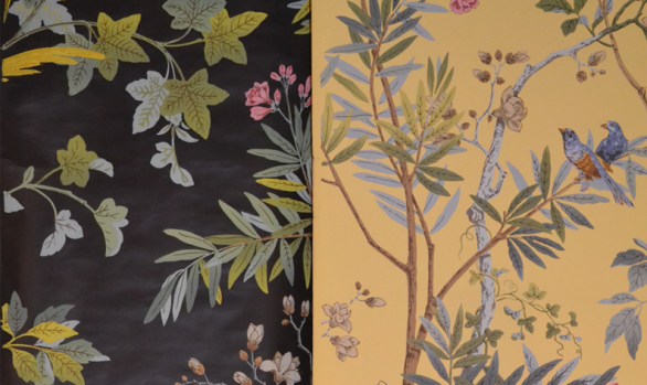 Decor Chinois<br /><span style=color:#f00;><strong>YELLOW PANEL SOLD</strong></span>
